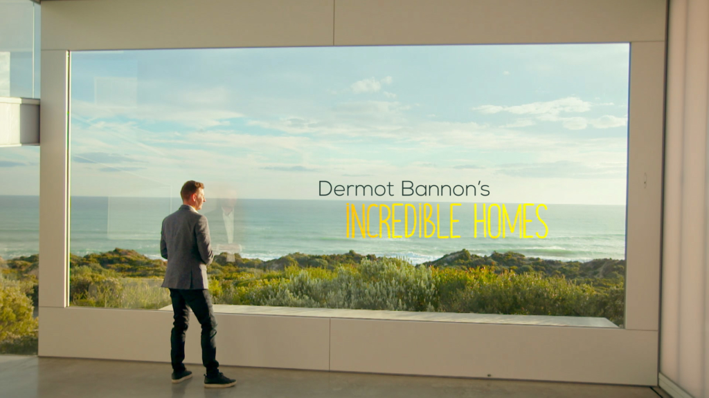 Dermot Bannon's Incredible Homes was fully finished here in Screen Scene.